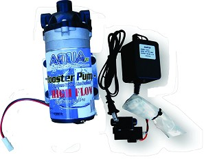 High Flow RO Booster Pump Kit