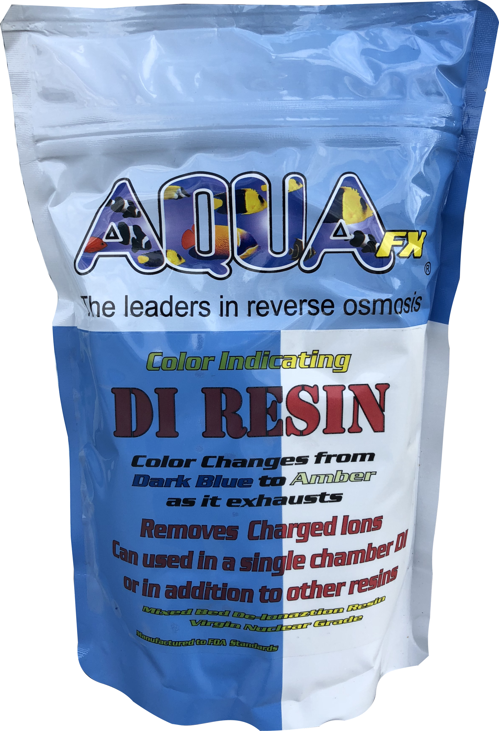 AquaFX Bulk Deionization (DI) Resin 1 LB