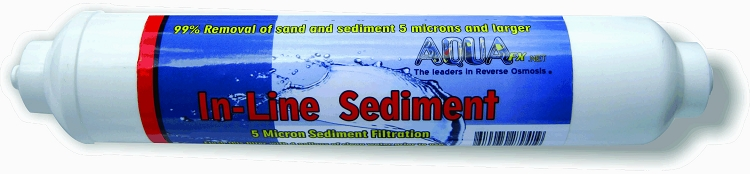 AquaFX Inline 5 micron Sediment Filter