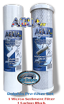 AquaFX 10 inch Replacement Filters